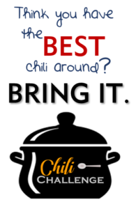 Think your chili is best? BRING IT.